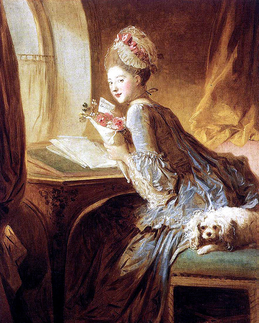 Rococo hipstersleek for Rococo period paintings