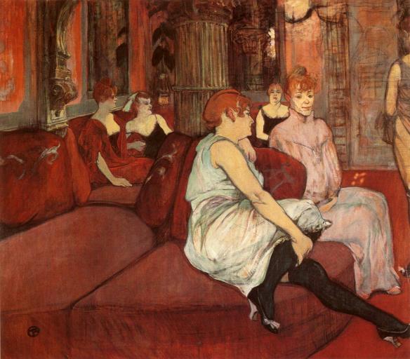 Toulouse-Lautrec_1894_In-the-Salon-at-the-Rue-des-Moulins_GGW-538