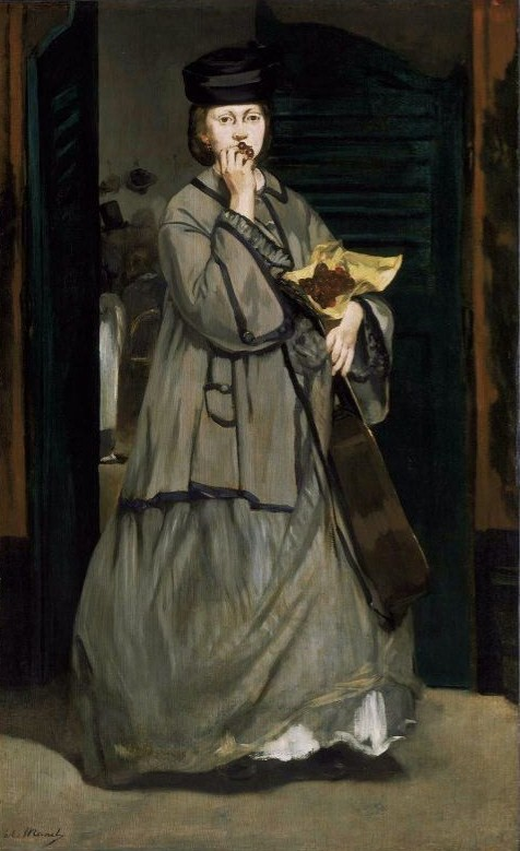 Manet, Edouard (1832-1883) - The Street Singer, 1862, Museum of Fine Arts, Boston