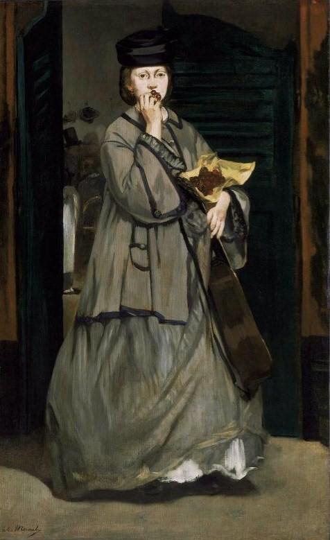 Manet, Edouard (1832-1883) - The Street Singer, 1862, Museum of Fine Arts, Boston