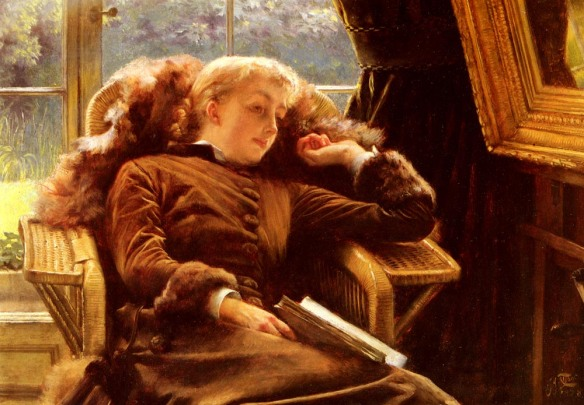 James_Tissot_-_Kathleen_Newton_In_An_Armchair