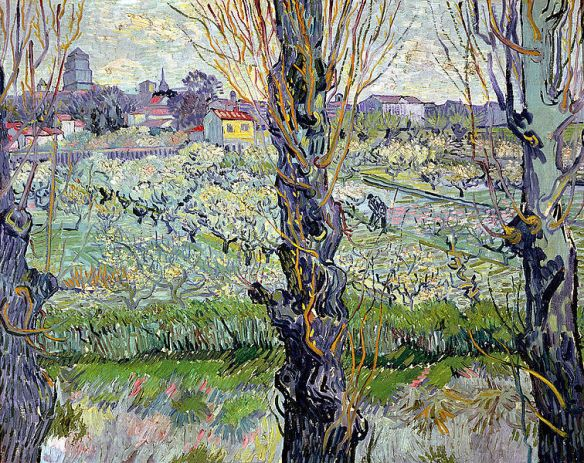 756px-Van_Gogh_-_Blühender_Obstgarten_mit_Blick_auf_Arles